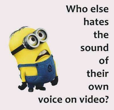 I totally hate it when I have to record a song