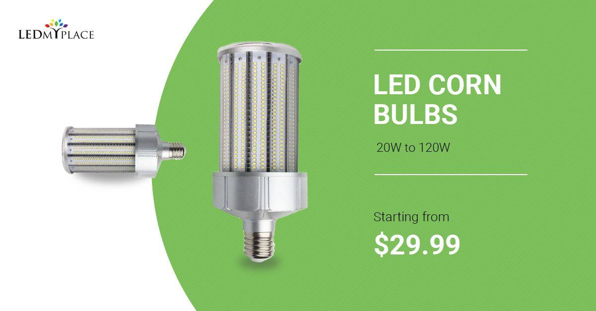 Led Corn Bulbs Replace Metal Halide Light Bulb Led Outdoor Lighting Led