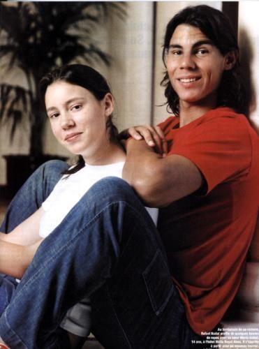 Rafael Nadal Forever Friends Brother Sister Rafael Nadal Tennis Champion Rafa Nadal