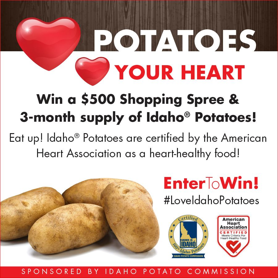 Heart healthy month giveaways