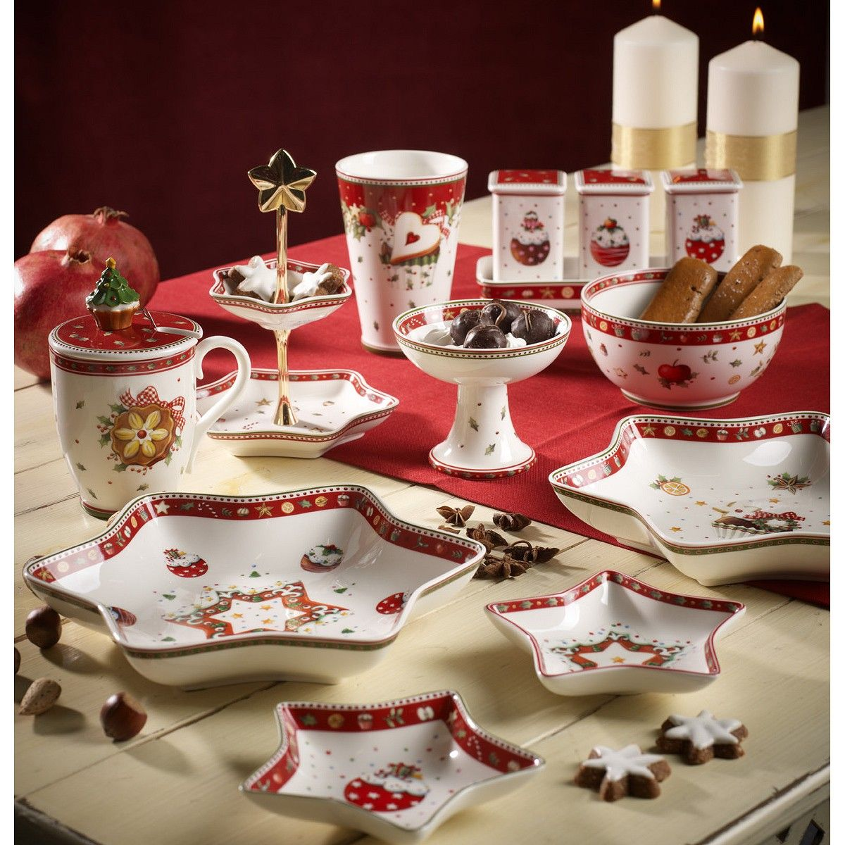 D co backery delight villeroy christmas table pinterest for Villeroy boch christmas