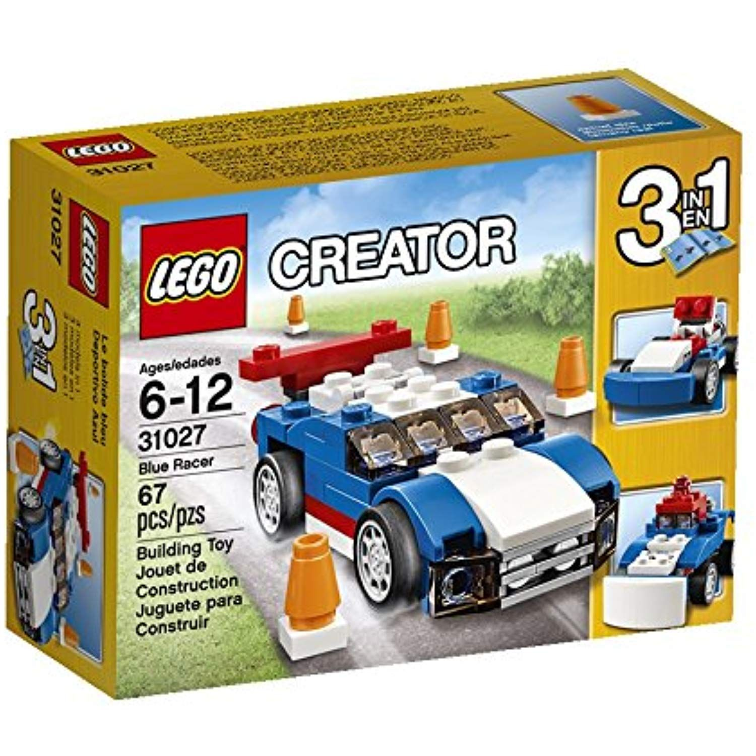 LEGO Creator Blue Racer Set Click image to review more