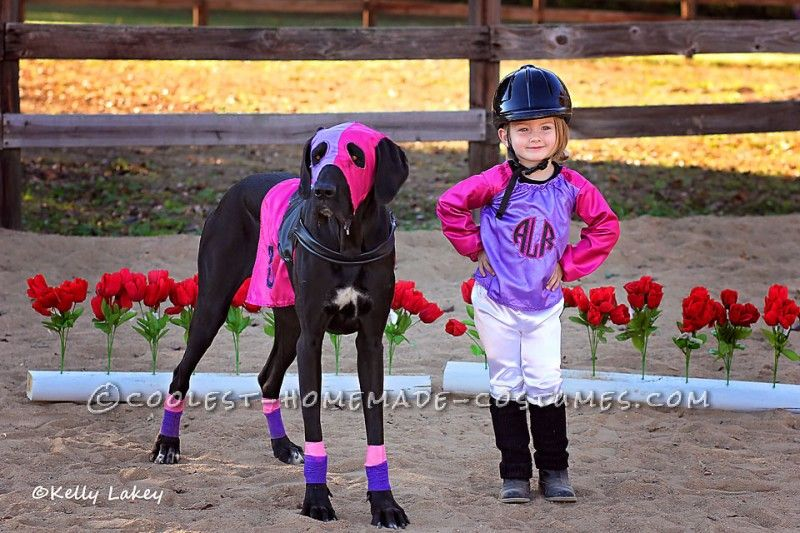 Cutest Race Horse and Jockey Duo Costume Ever! | Duo ...