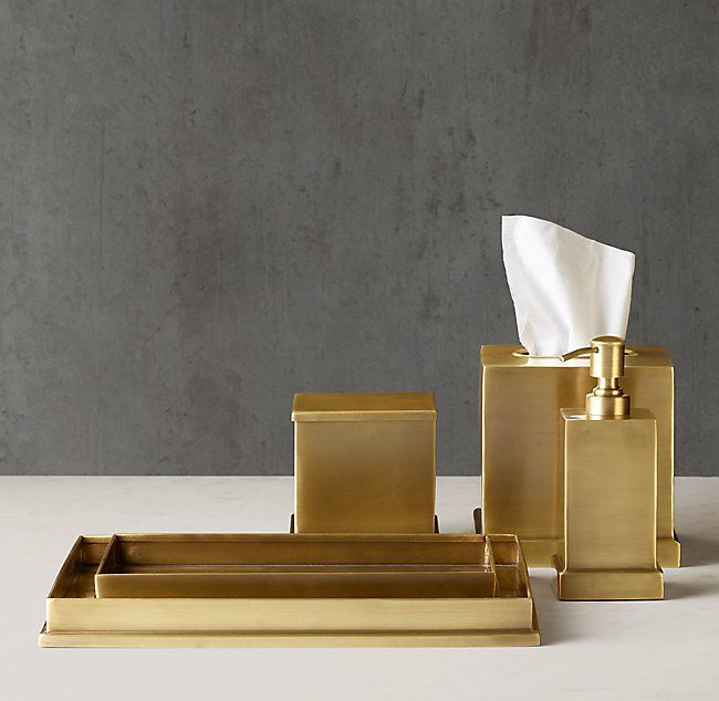 Dunham Bath Accessories Gold Bathroom Accessories Bath