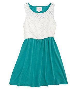 GB Girls 7-16 Lace-Bodice Dress   Dillard's Mobile
