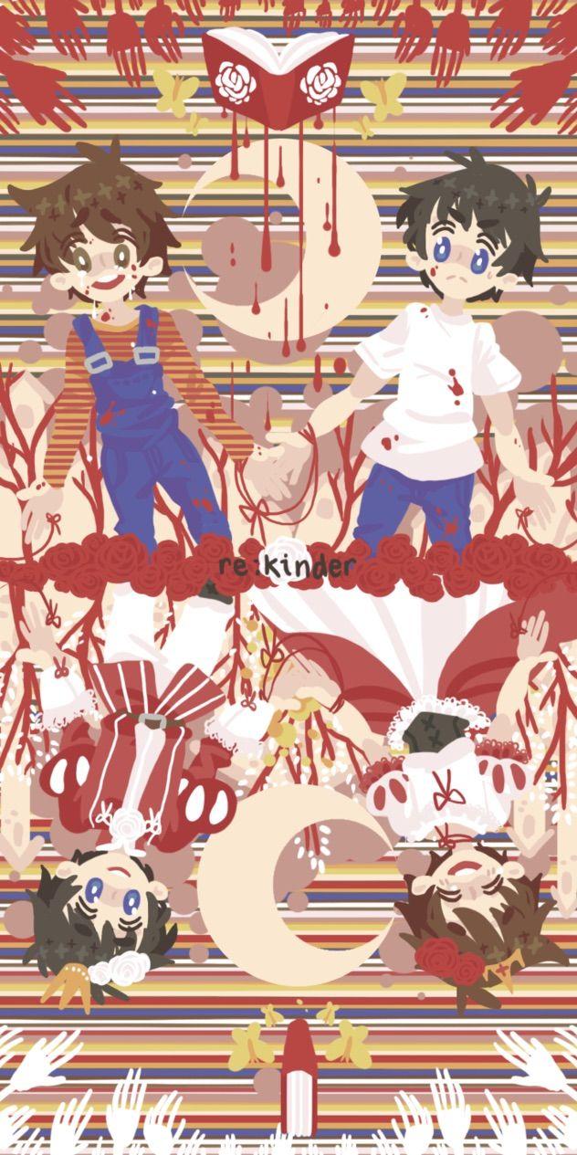 Re: kinder   anime   Rpg horror games, Rpg maker, Maker game