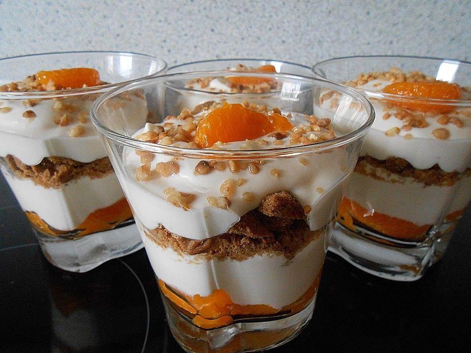 Spekulatius-Mandarinen-Quark-Creme von jg1305 | Chefkoch #nachtischweihnachten