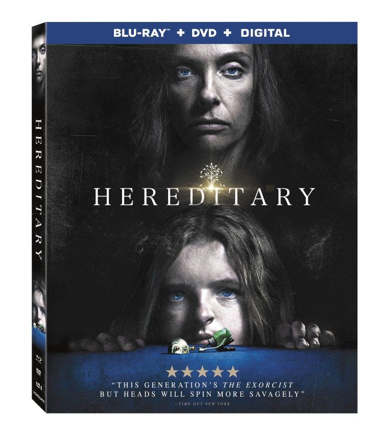 Hereditary Home Video Release To Include Nine Deleted Scenes By Brad Miska Compliments Of Wtvf Grindhouse Exploitation Movies Movie Hor Blu Ray Blu Dvd