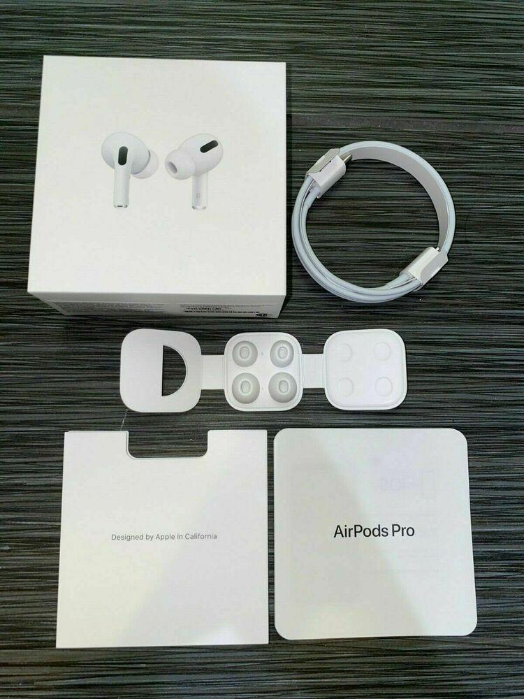 New Apple Airpods Pro Box Empty Box Usb C Charge Cable Manual 4 Ear Tips Apple Produkty Apple Naushniki Produkty