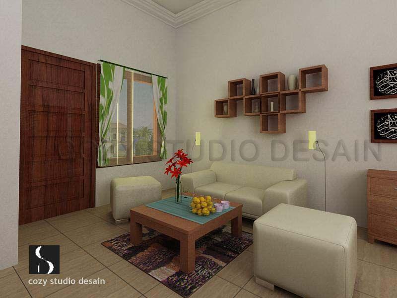 Desain Ruang Tamu Mungil Sederhana