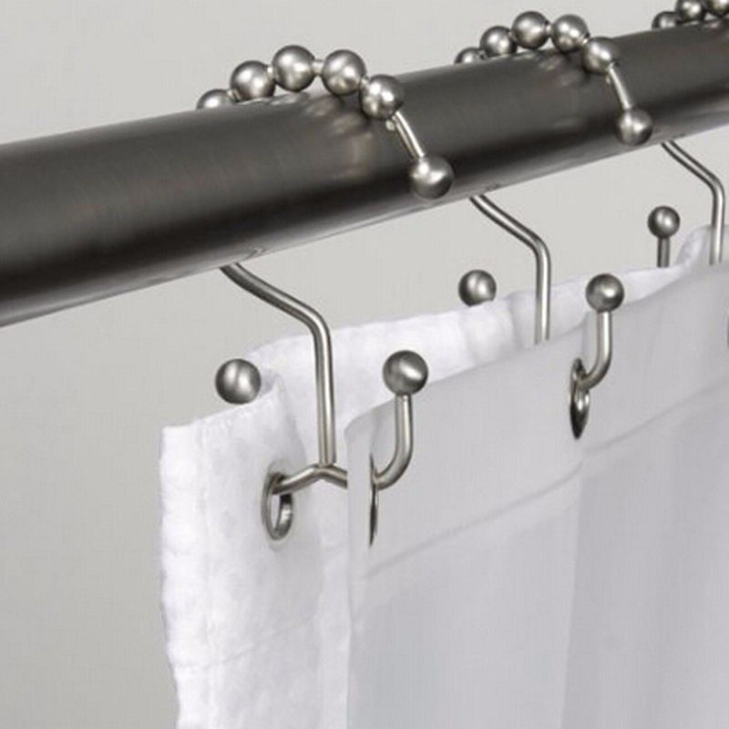 Gliding Bathroom Shower Curtain Hooks In 2019 Shower Curtain