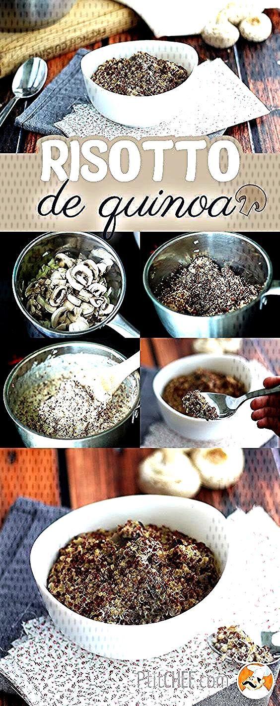 Risotto de quinoa aux champignons // Recette vegan -) //