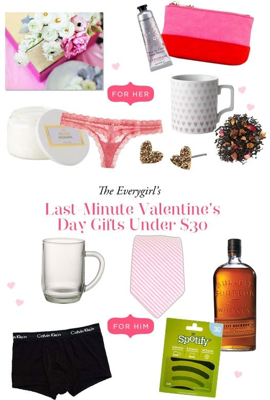 last-minute valentine's day gifts under $30 #theeverygirl, Ideas