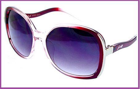 Giselle Fashion Sunglasses in Merlot