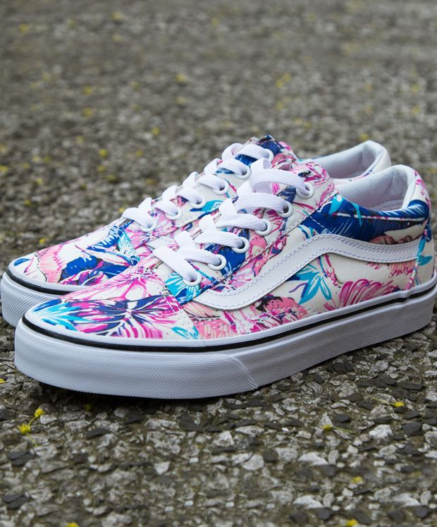 Vans Old Skool Tropical Prints  c81d765a872