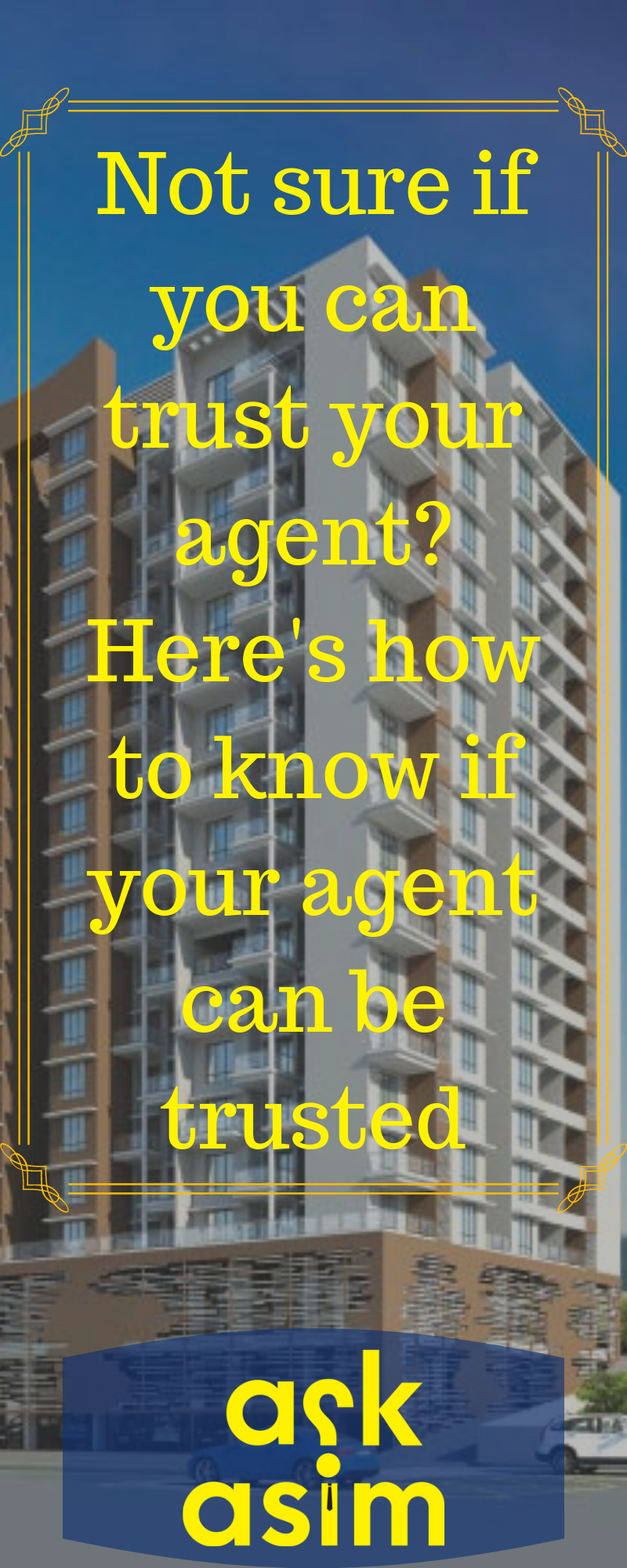 9 Warning Signs You Have Got The Wrong Agent Real Estate Agent