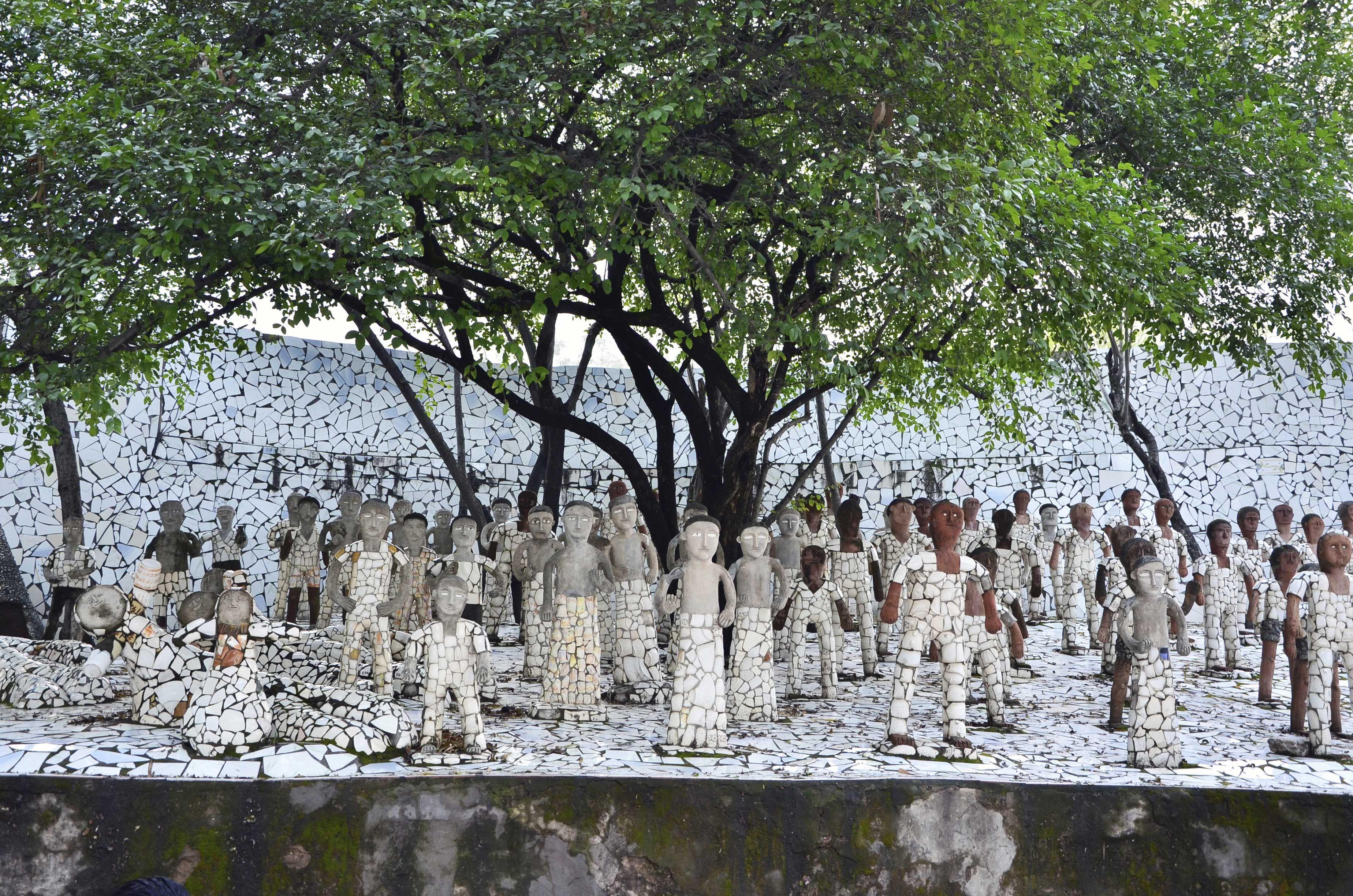 Giardino di pietra tradizionale giapponese a kyoto in giappone