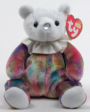 ... Ty Beanie Baby bear reference information and photograph. APRIL My nose  is the color of my birthstone. Diamond It brings intelligence and non-stop  ... 39401a40dc0a