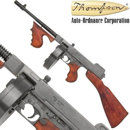 Tommy Gun - Thompson Replica Gun   ~*~ Weapons