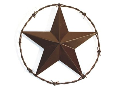 Texas Lone Star With Barb Wire Texas Pinterest Texas