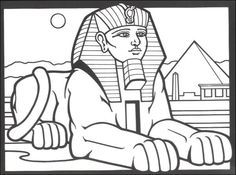 Cleopatra Coloring Pages Egyptian Stained Glass Coloring Book
