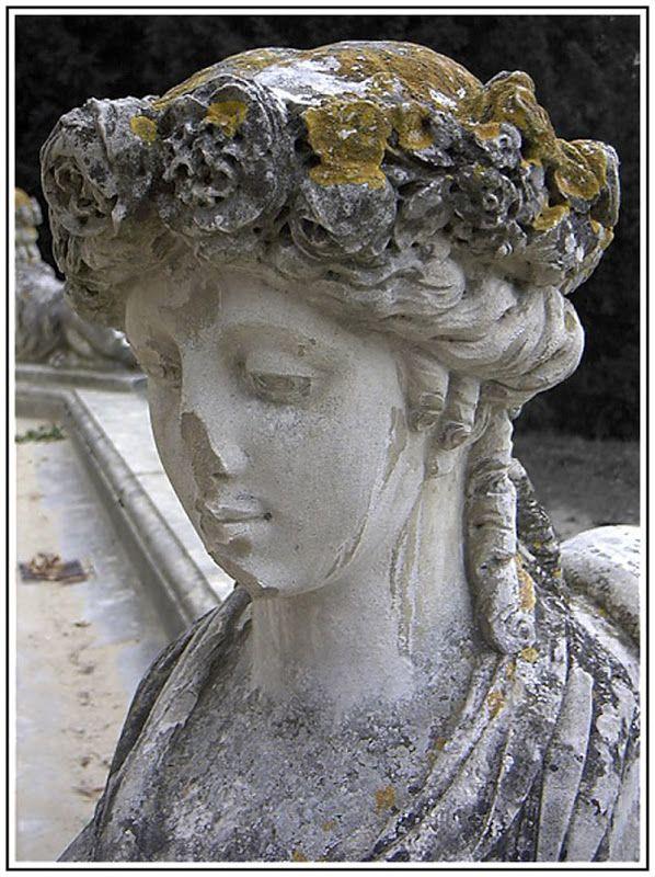 patina on stone