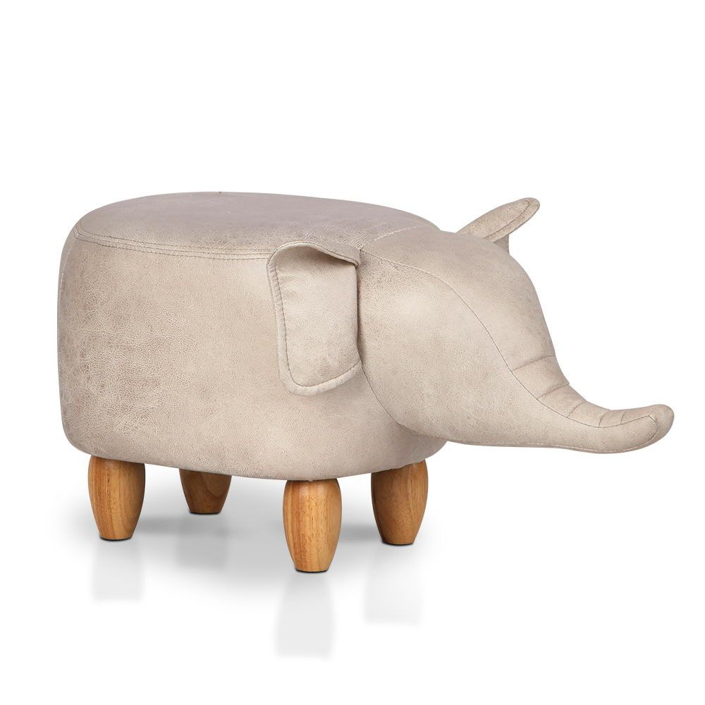 Toy Elephant Chair Pouffe Foot Rest