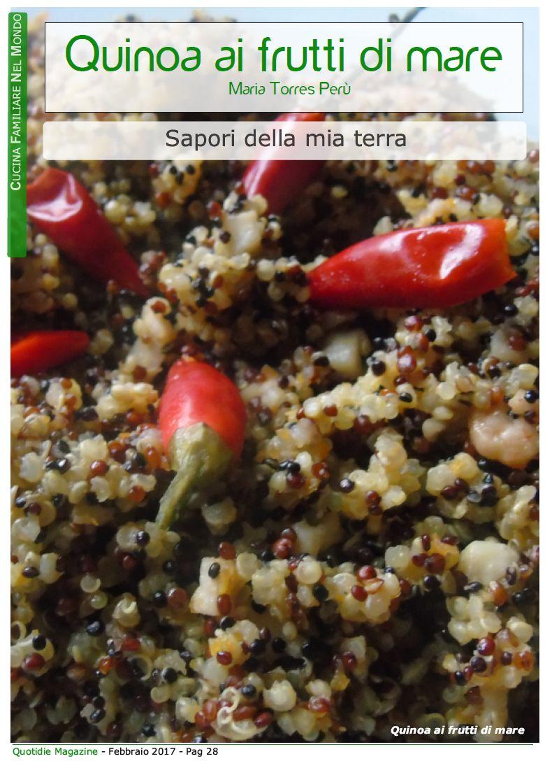 Pin di Quotidie Magazine su Cucina del mondo | Cucina del ...