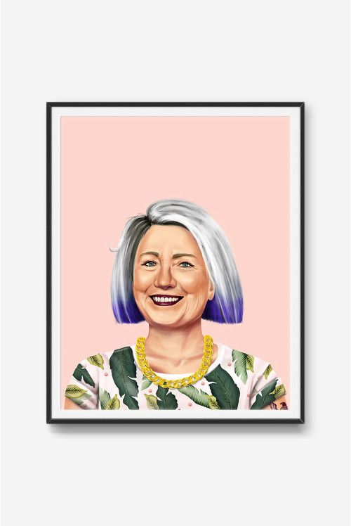 Hilary Clinton Print | $29.90