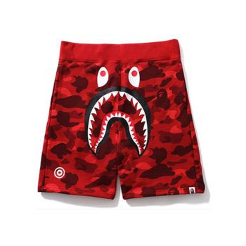 55498d6933 Bape Red Camo Shorts Replica from RepFashions http://repfashions.com/bape