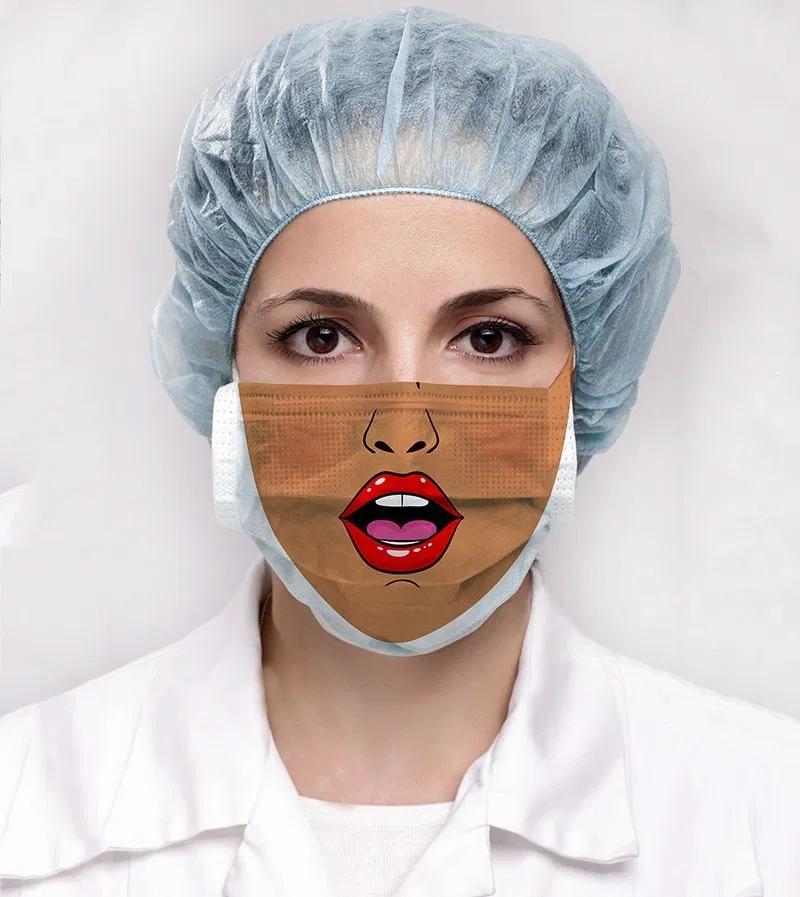 care mask 9 IIHIH in 2020 Funny face mask, Fashion face