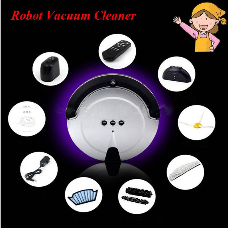1pc New Fashion Smart Household Ultra Thin Robot Efficient