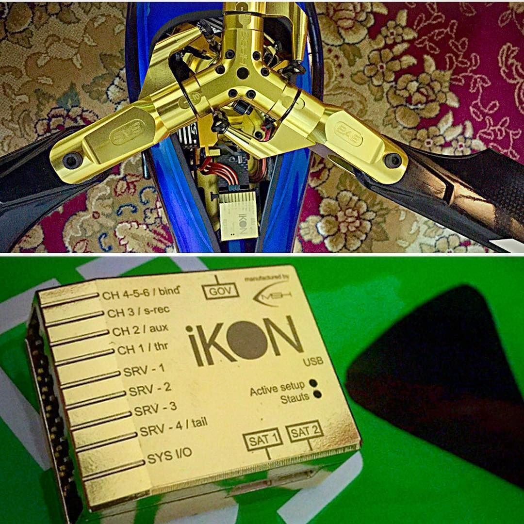 the only unite from Ikon FBL system in the world    made by