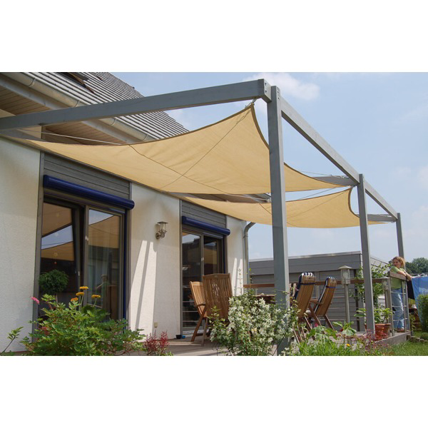 The Coolair Sunscreen Square Large Is A Big Awning To Provide Extra Shade From The Sun Simple Set Up Perfect For Camp In 2020 Pergola Pergola Patio Pergola Carport