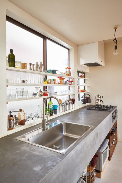 casaco カサコ house renovation kitchen ideas キッチン muji