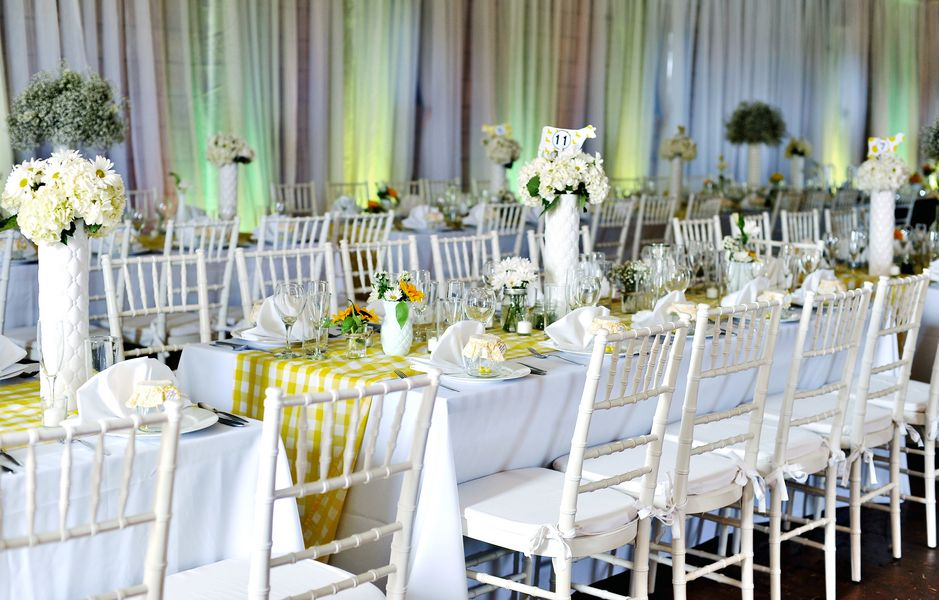 Yellow Wedding Theme ideas #yellow  #wedding  - The Frosted Petticoat: Sunshine Nuptials