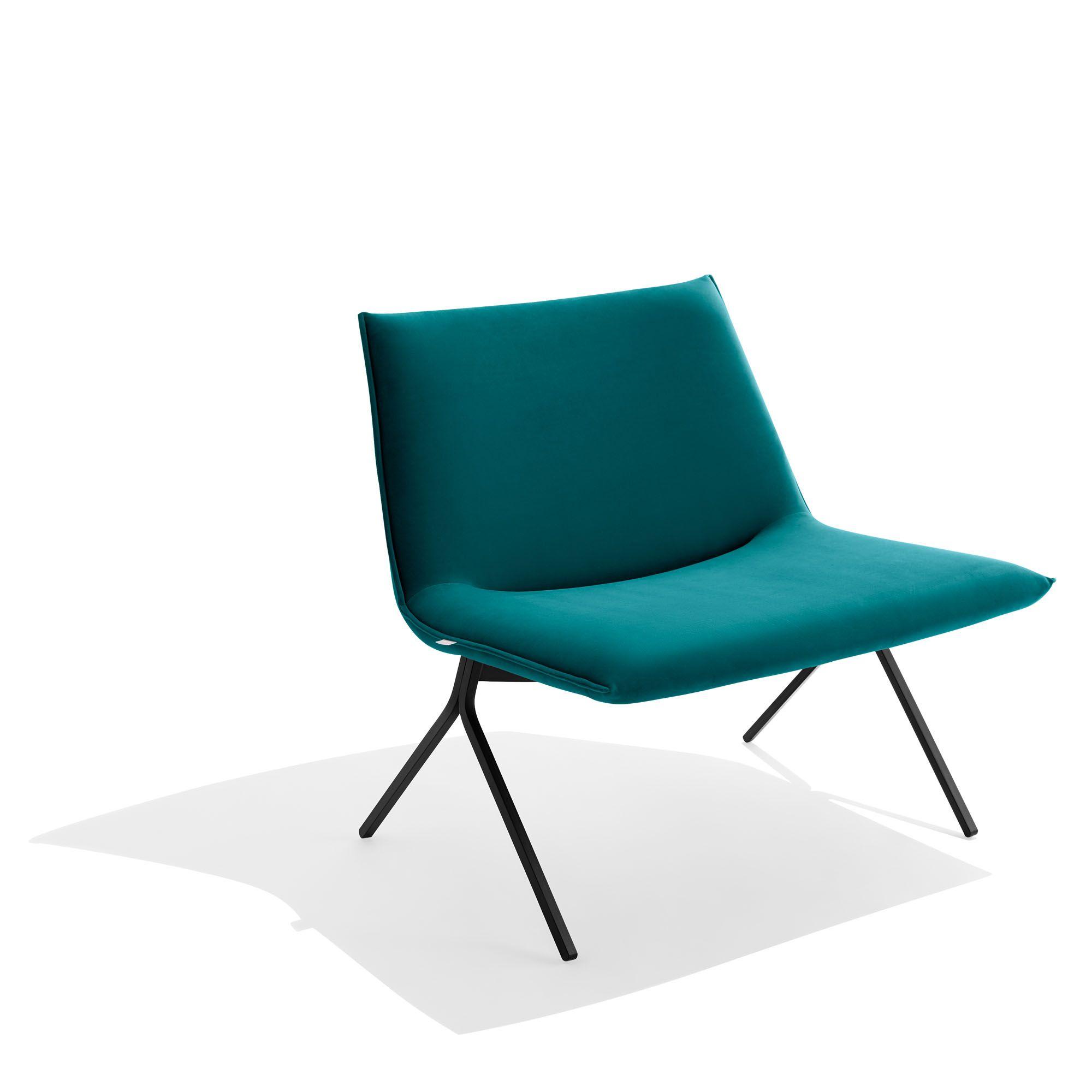 Velvet Meredith Lounge Chair Modern Office Furniture Office