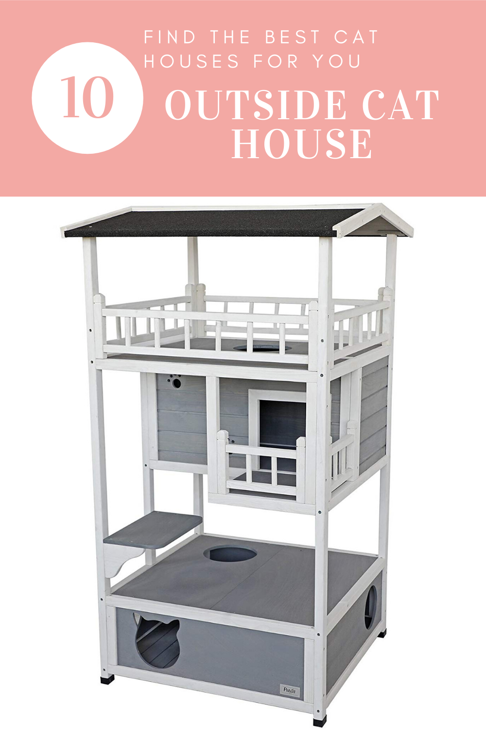 Top10 outside cat house in 2020 Outdoor cat house diy