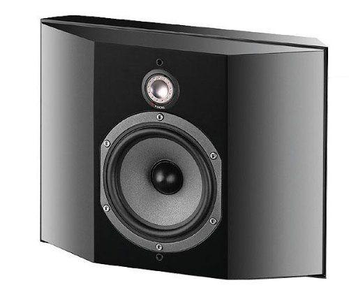 Focal Sr700v Surround Speakers  U2013 Black Satin