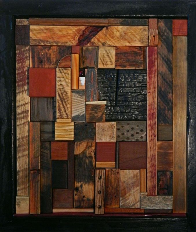 Contemporary Abstract Three Dimensional Artwork Wall
