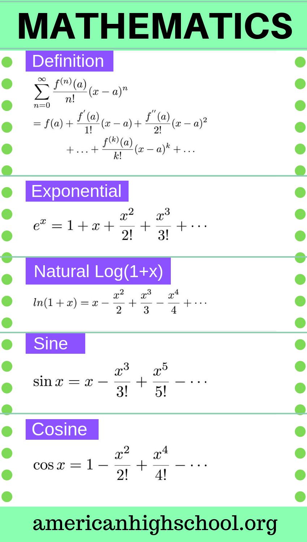 How To Learn Mathematical Formulae Studying Math Learning Mathematics Math Formulas