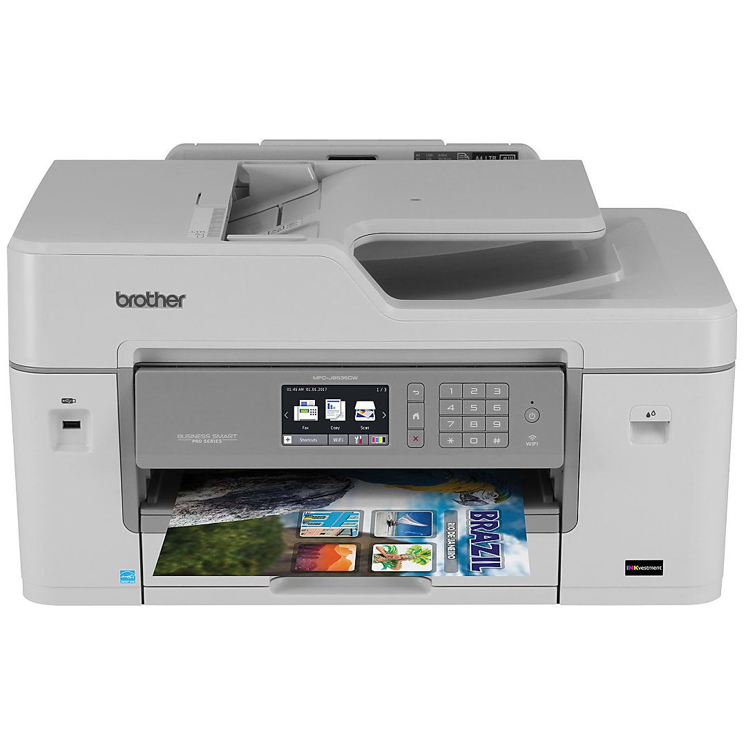Color printing office depot - Brother Business Smart Pro Wireless Color Inkjet All In One Printer Scanner Copier Fax Mfc Xl By Office Depot Officemax