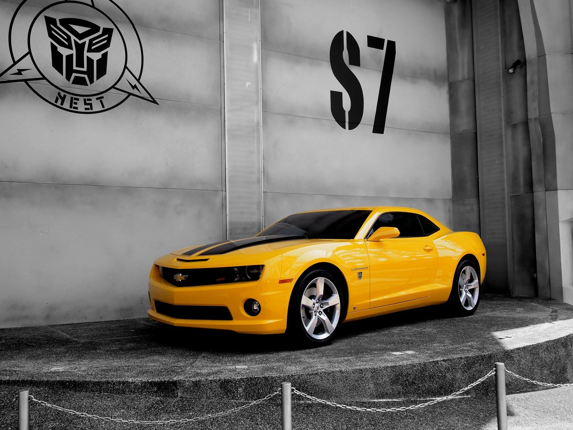 Transformers Bumblebee Car Wallpapers Hd 1080p Camaro Chevrolet Camaro Car