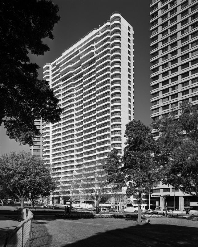 The Connaught Apartments Crn Liverpool St And Wentworth Ave Sydney 1984 Tom Balfour Photo
