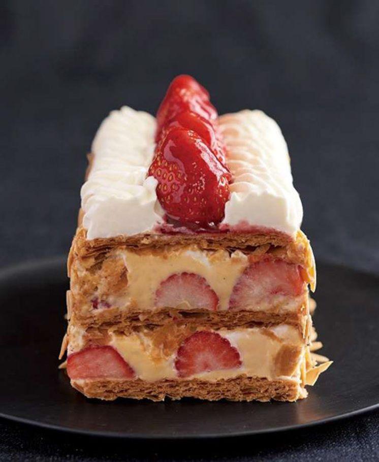 Photo of キハチにて苺のナポレオンパイ&苺づくしコースが登場 – 前菜からメイン、デザートまで苺を使用