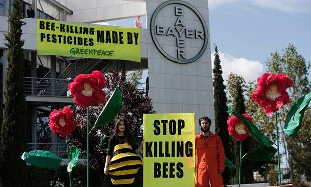 Pesticides protest - UK suspends ban on Pesticides .....