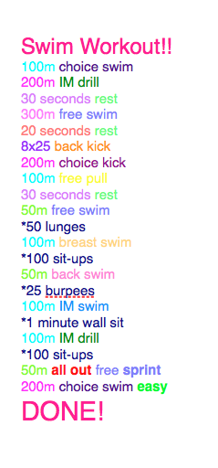 Need a new type of workout let 39 s hiit the pool try our - How to warm up swimming pool water ...