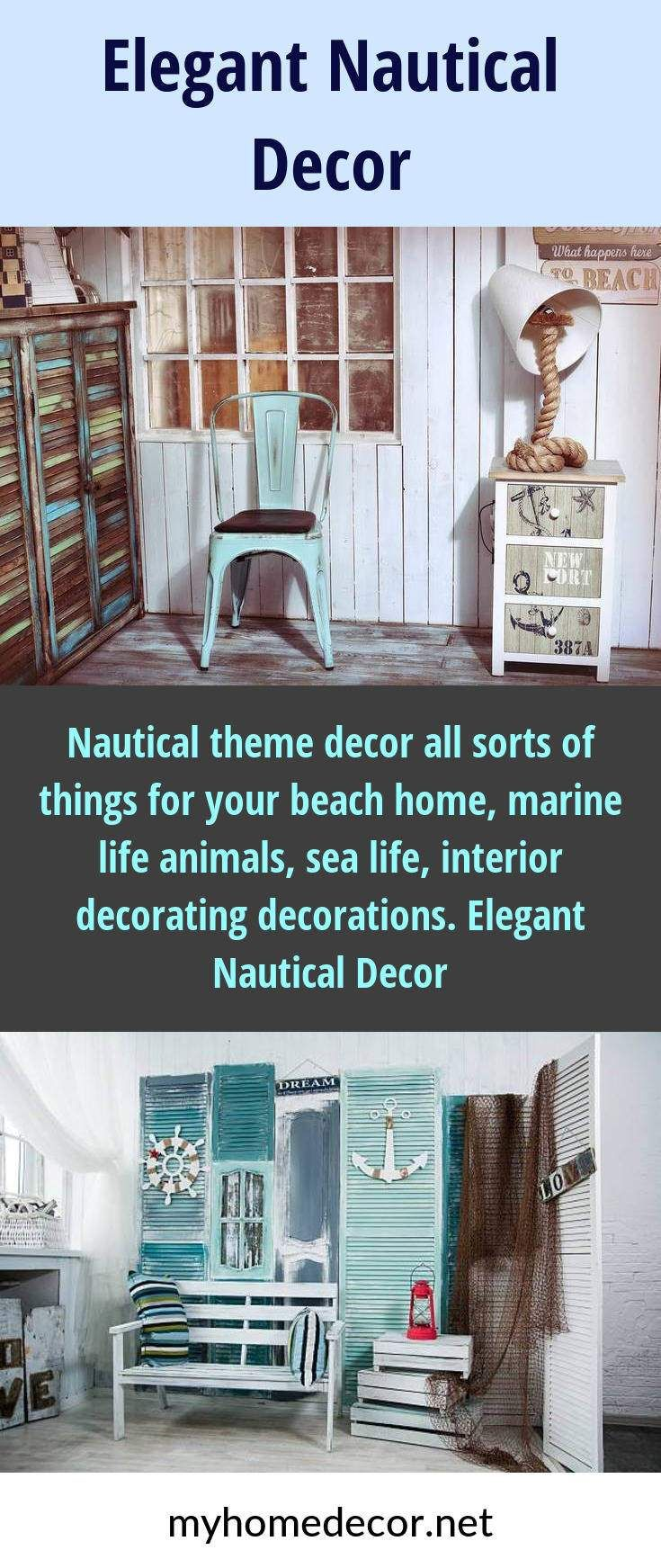 Nautical Theme Decor All Sorts Of Things For Your Beach Home Marine