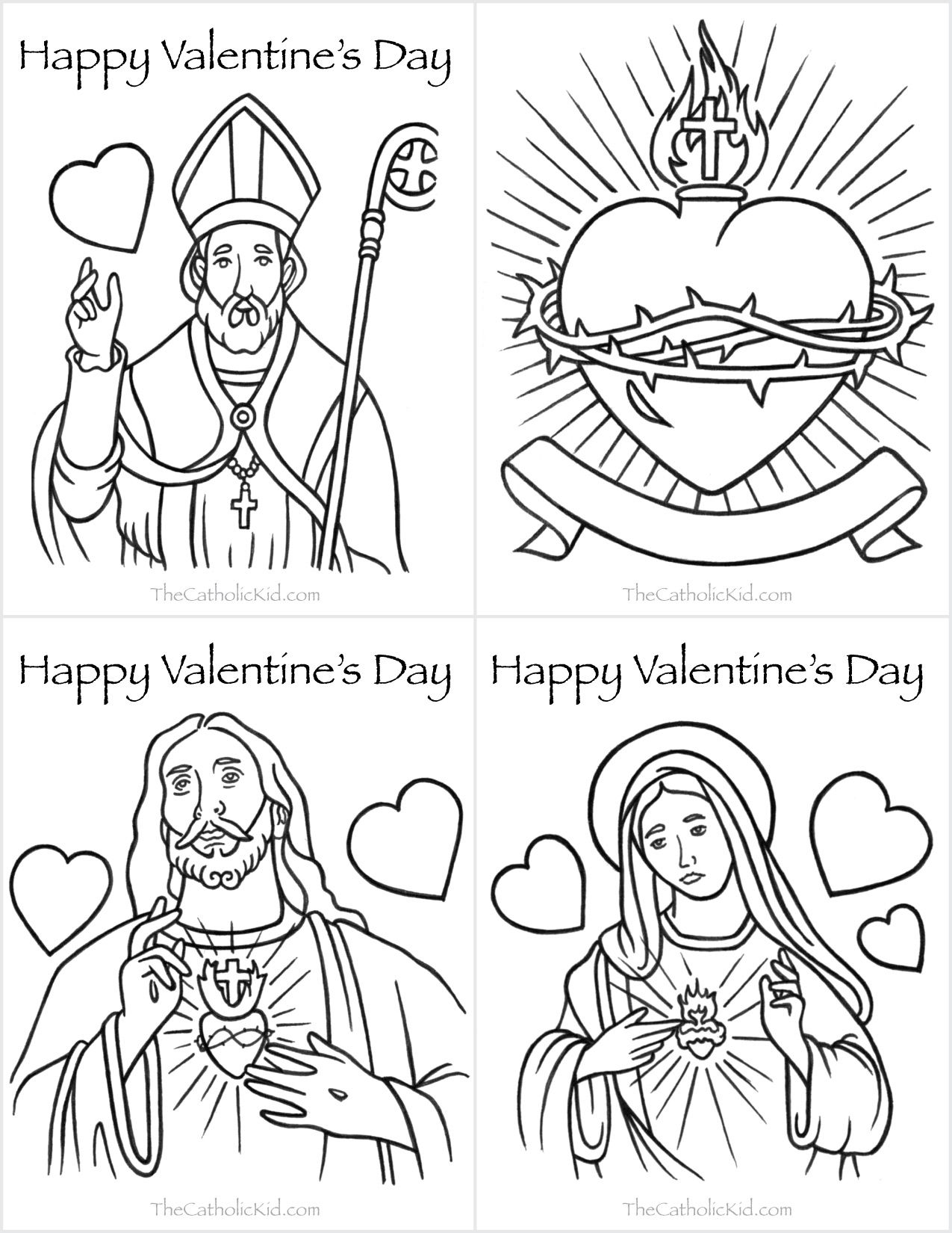 A Few Of Our Favorite Catholic Valentine S Day Cards To