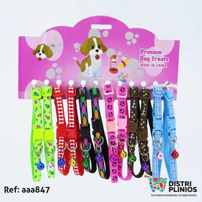 Collar Para Mascotas Pequeñas Con Sonajero Diseños De Moda  Para Mascotas Collar pequeño con sonajero, diseños de moda, ideal para tu mascota. (Venta minima carton x 12) Para ventas al por mayor comuníquese al 320 3083208 o al 3423674 en Bogotá